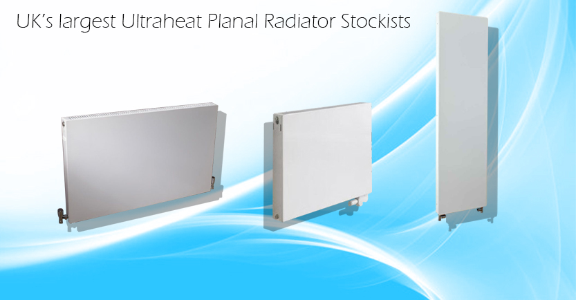 UK's largest Ultraheat Planal Radiator Stockists